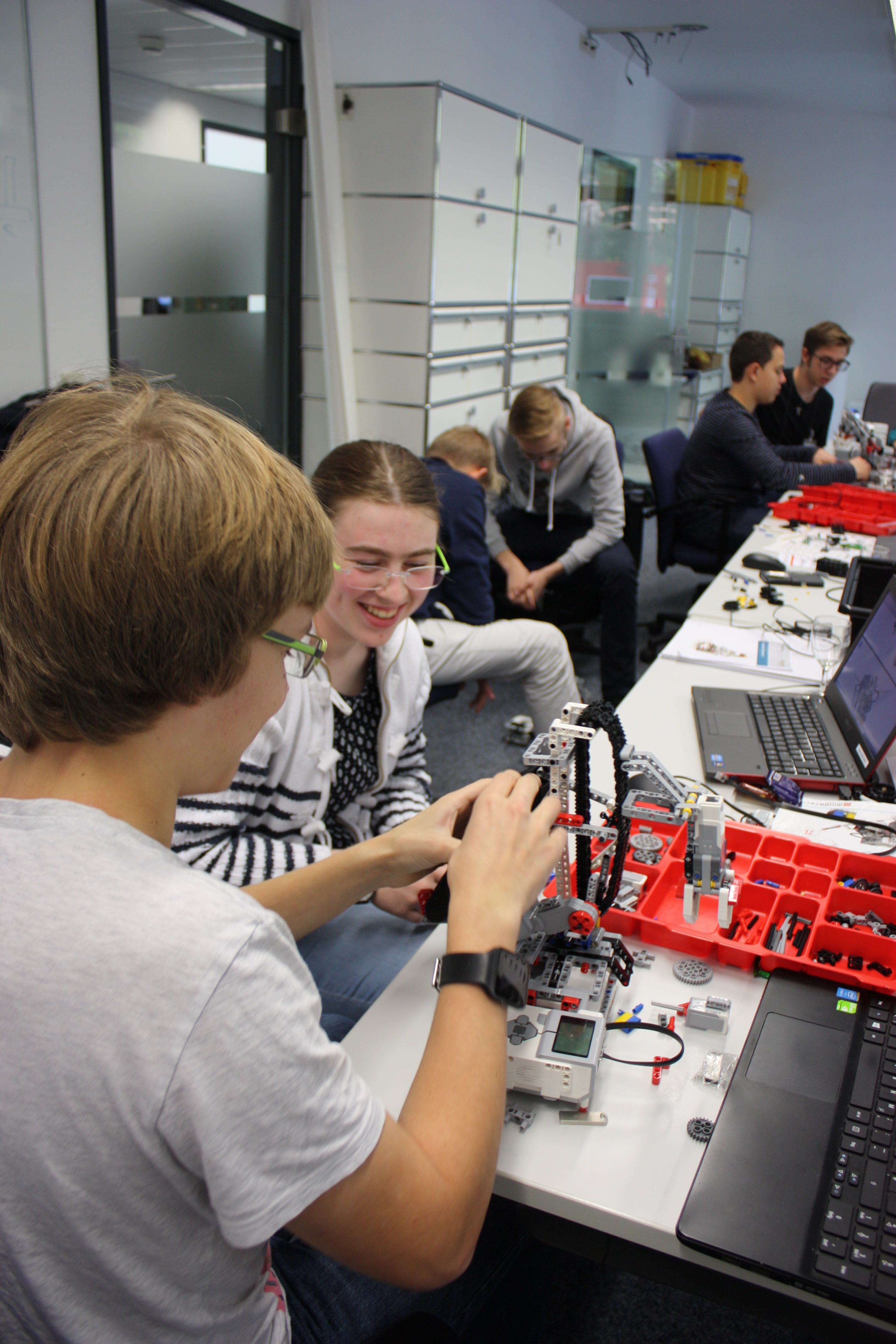 Talent-School am Fraunhofer IAIS